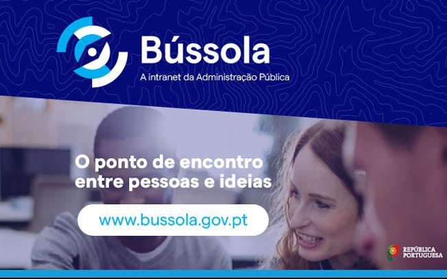Imagem. Bússola - Intranet da Administração Pública
