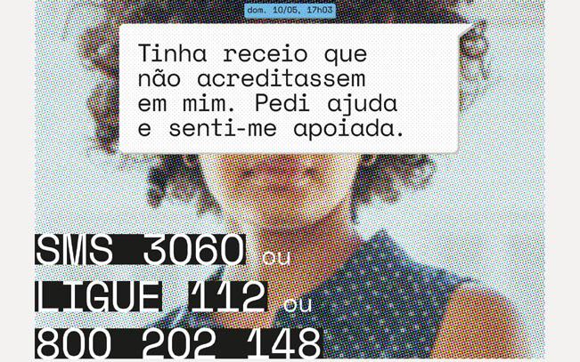 Imagem. Campanha #EuSobrevivi